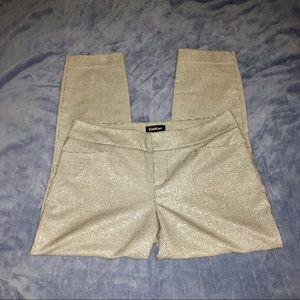 Bebe ~ Houndstooth Sparkle Skinny Pants